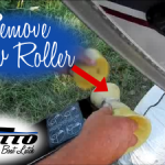 remove roller from trailer