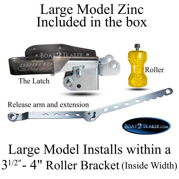 Large Drotto Model Zinc In Box