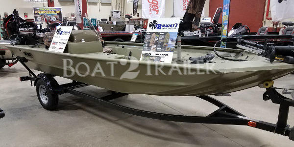 Bass Tracker Boat2Trailer