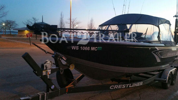 Crestliner Drotto customer Boat2Trailer