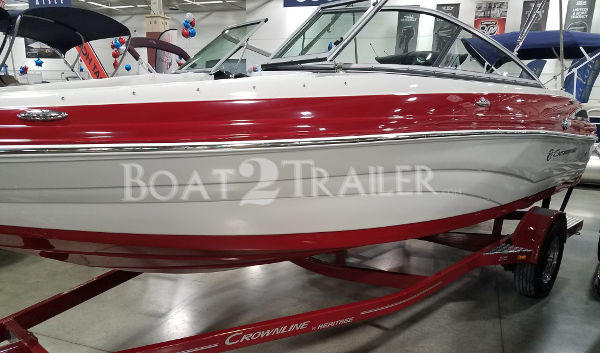 Crownline Boat2Trailer Red