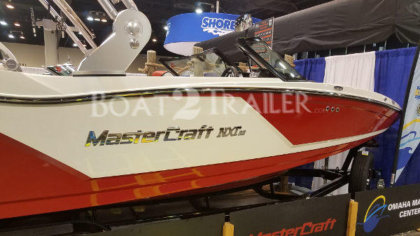 Mastercraft Boat2Trailer Red
