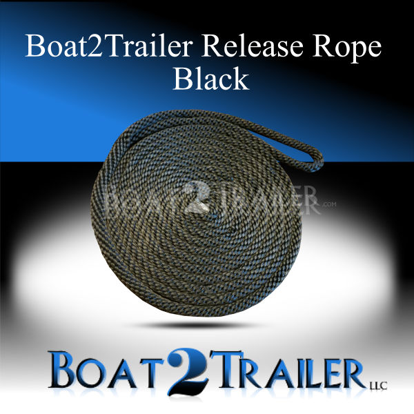 Boat2Trailer Release Rope Black