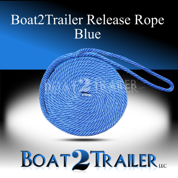 Boat2Trailer Release Rope Blue