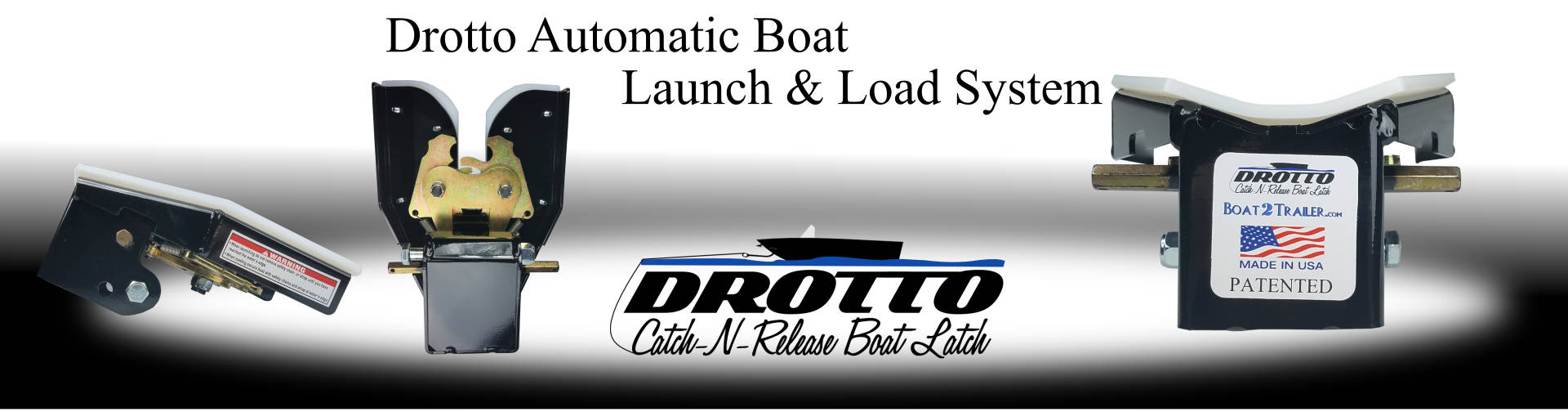 Drotto Automatic Boat Latch