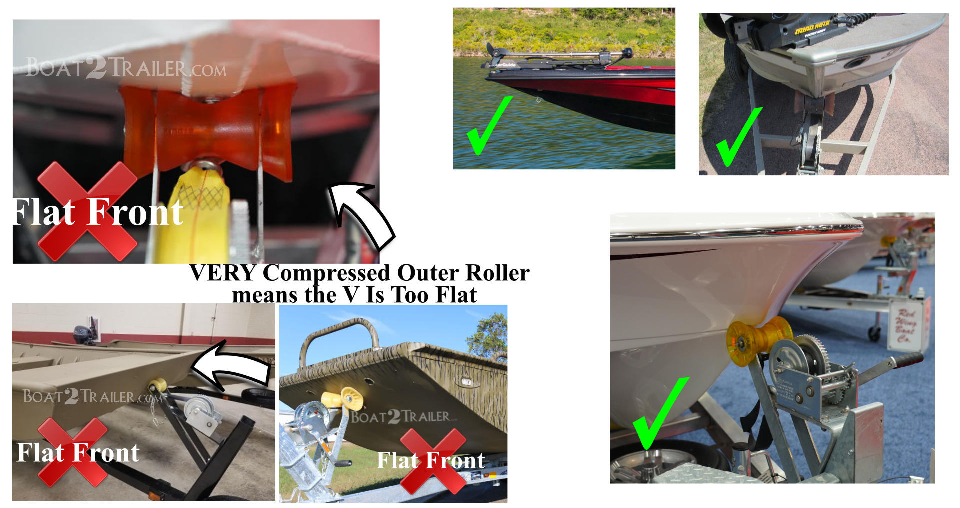 Drotto Flat Front Boats