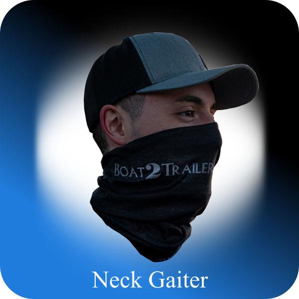 Black - Grey Neck Boat2Trailer Gaiter